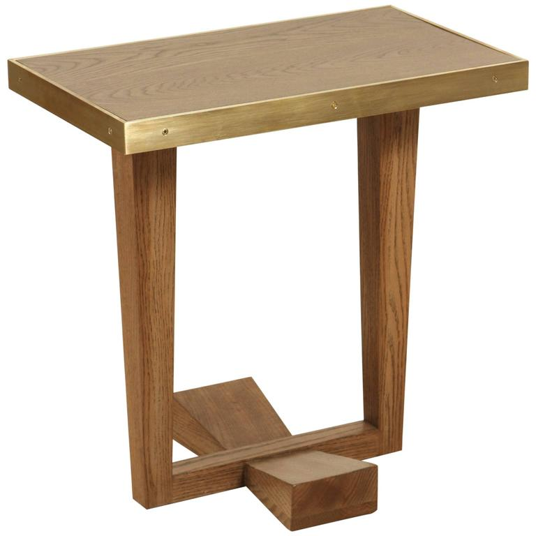 Rialto Table by Lawson-Fenning in Smoked Oak