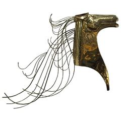 Curtis Jere Horse Wall Sculpture
