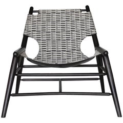 Milk Sling Chair, Stripe by Anna Karlin