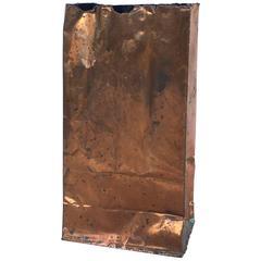Kelley Wearstler Trompe L'oeil Bronze Sculpture of a Paper Bag