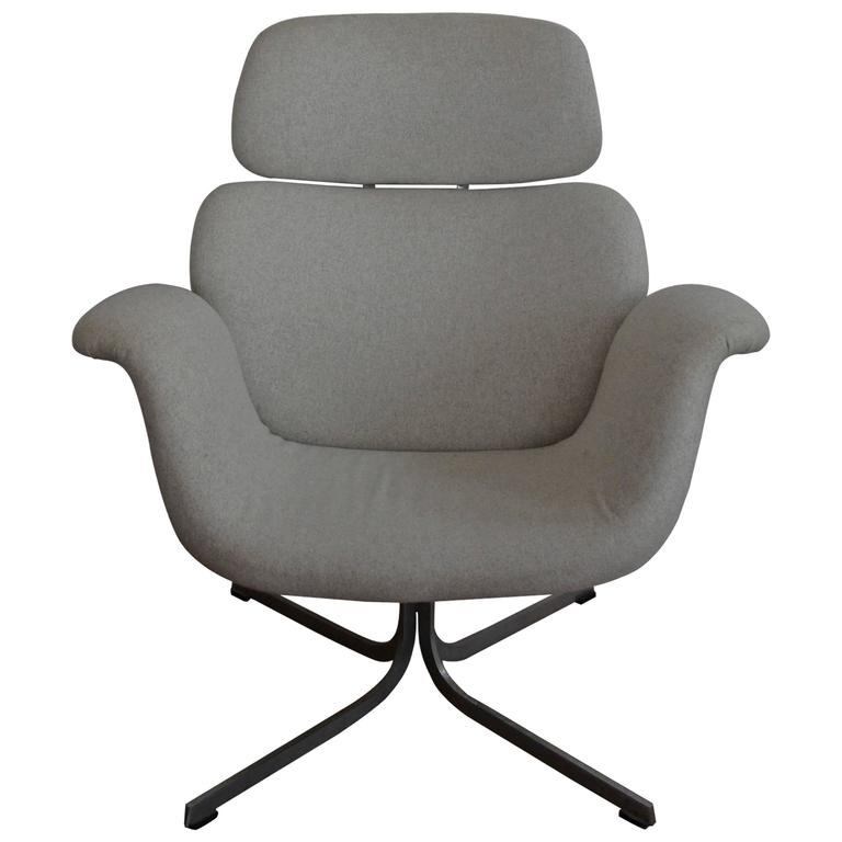 "Pierre Paulin F545 High Back ""Big Tulip"" Chair for Artifort"