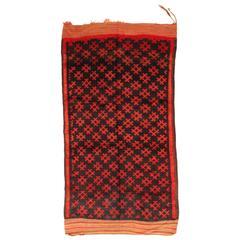 Vintage Djebel Amour Saharan Carpet