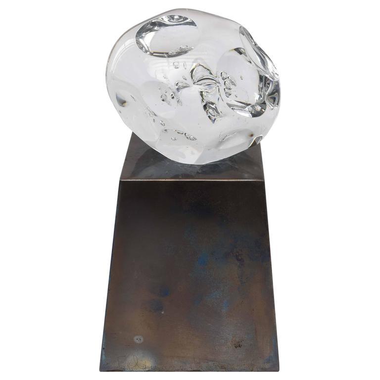 Feliciano Bejar Glass Sculpture