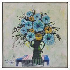 Mid-Century Floral Still Life