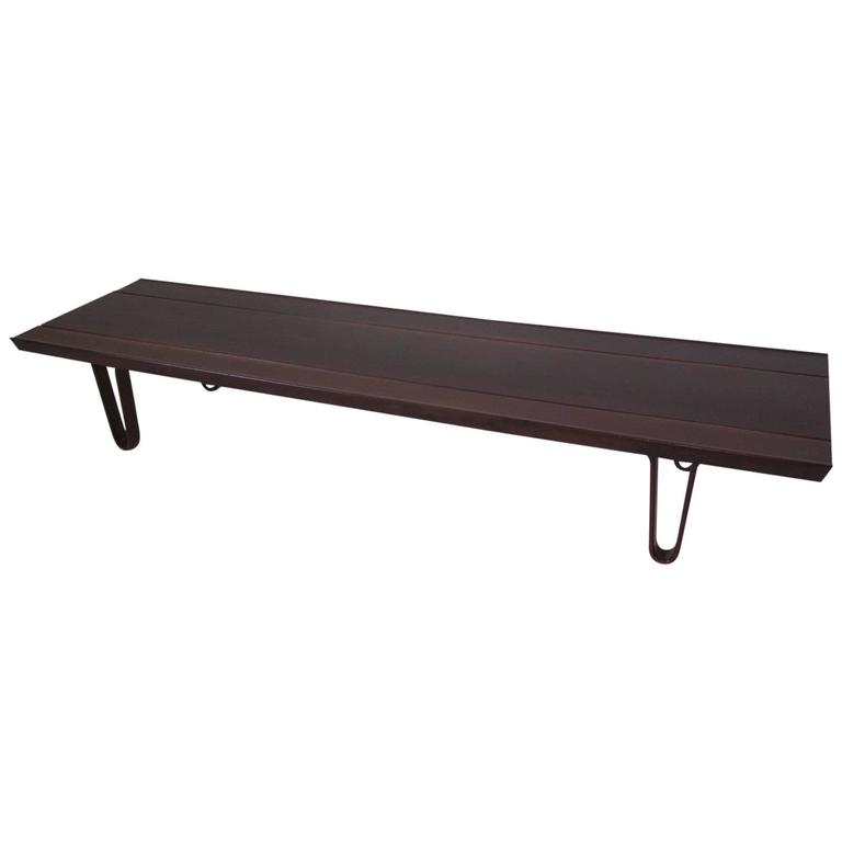 Edward Wormley for Dunbar Long John Coffee Table or Bench