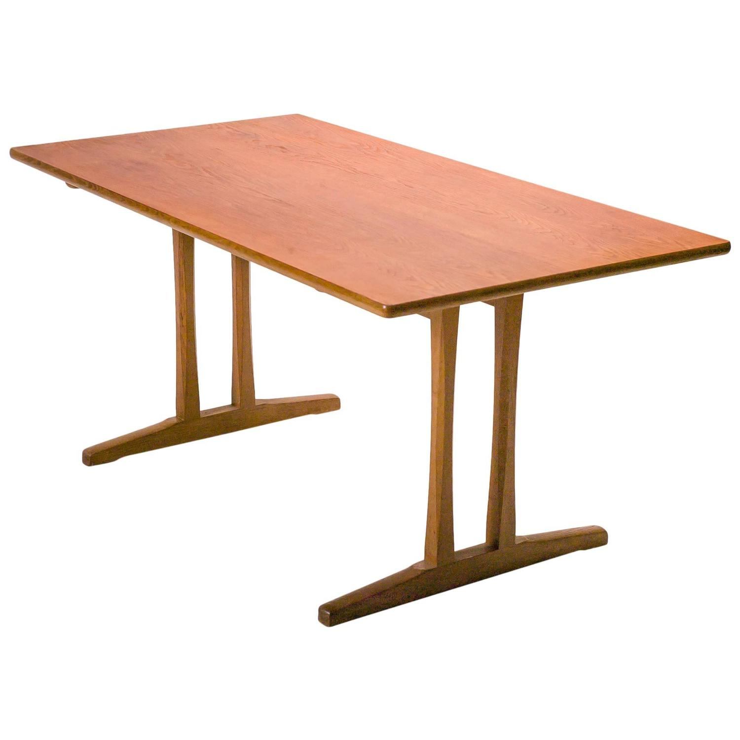 Shaker Table C18 by B¸rge Mogensen For Sale at 1stdibs
