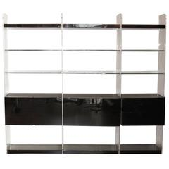 1970s Bookcase Attributed to Mobilier International