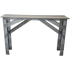 Erector Set Style Console