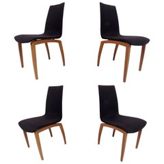 Four Mid-Century Italian Dining Chairs