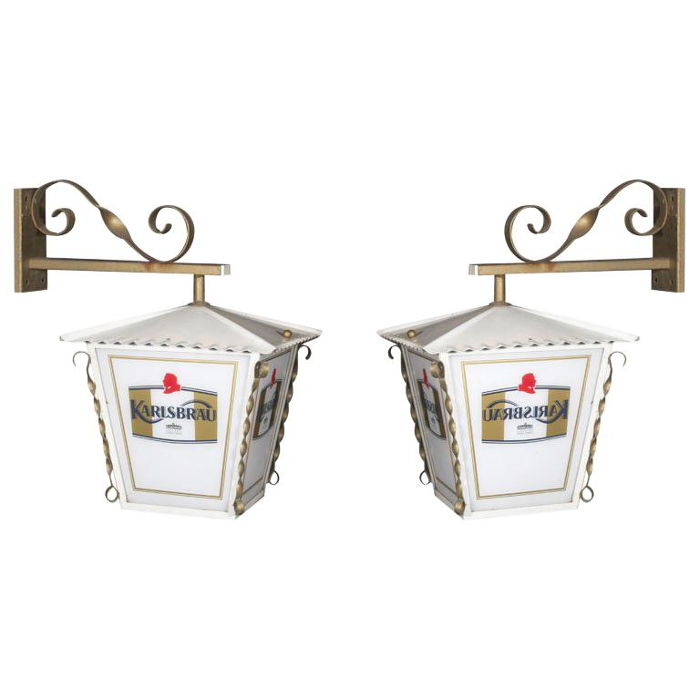 Pair of French Wall Lanterns