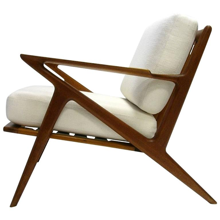Poul jensen for selig 39 39 z 39 39 lounge chair with new for Poul jensen z chair
