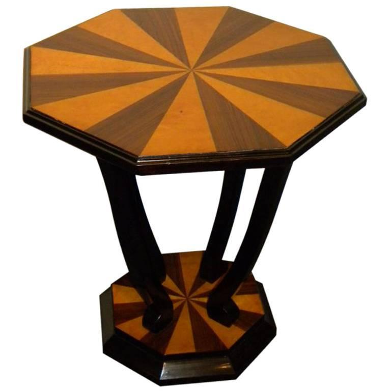 Custom Art Deco Side Table For Sale At 1stdibs