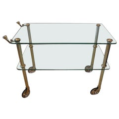 Brass Serving Cart by Osvaldo Borsani, circa 1938