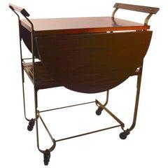 Treitel Gratz Drop-Leaf Serving Cart
