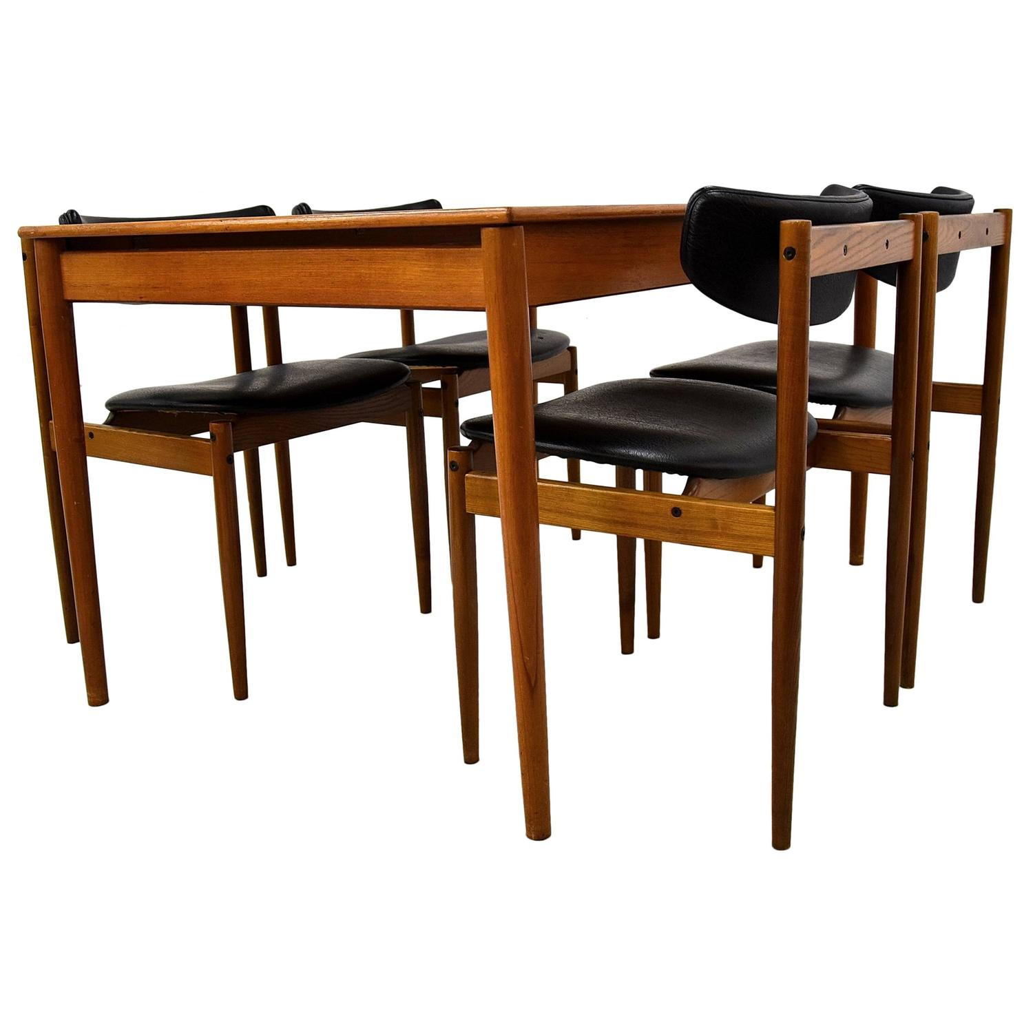 1960s Dining Room Set By Thereca For Sale At 1stdibs