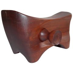 Sculptural Wood Bank