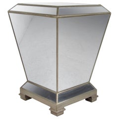 Vintage Mirrored Pedestal