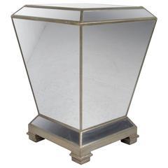 Vintage Mirrored Pedestal