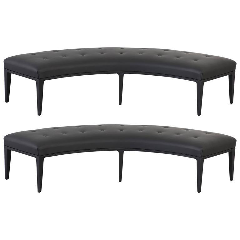 Pair of Benches Attributed to Harvey Probber