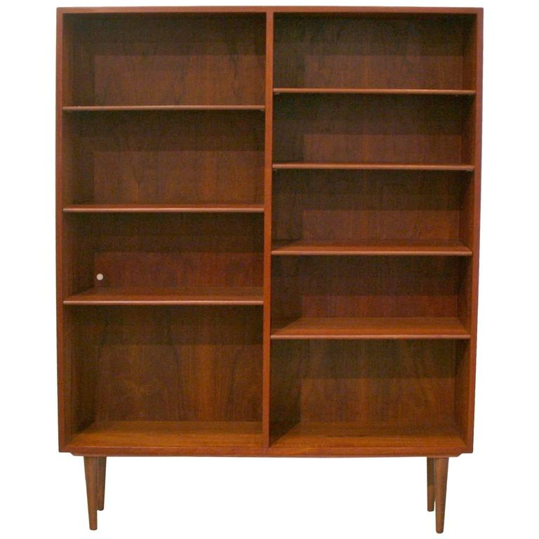 Vintage Danish Teak Bookcase By Børge Mogensen At 1stdibs
