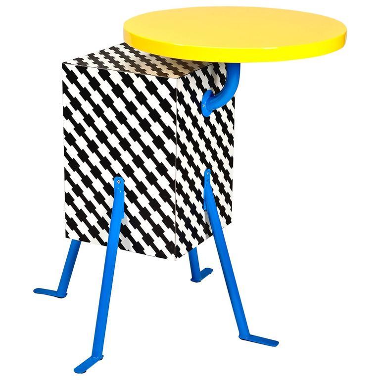 kristall table by michele de lucchi for memphis for sale On michele de lucchi design