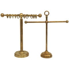Solid Brass Bracelet and Scarf Holders