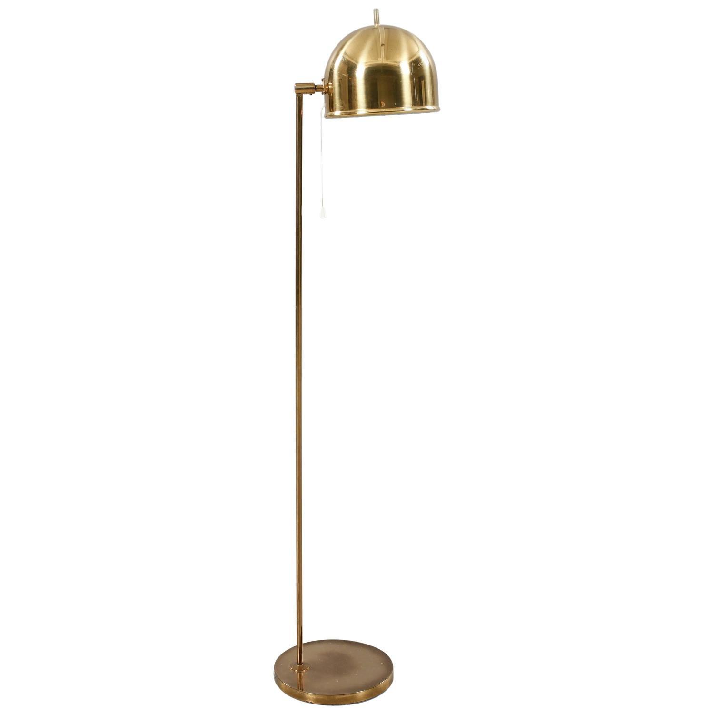 modern floor lamp by bergboms sweden 1950 for sale at 1stdibs. Black Bedroom Furniture Sets. Home Design Ideas
