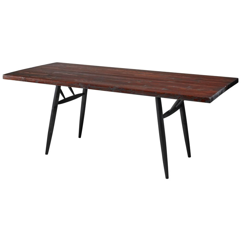 Ilmari Tapiovaara Dining Table for Laukaan Puu, Finland, 1950s For Sale