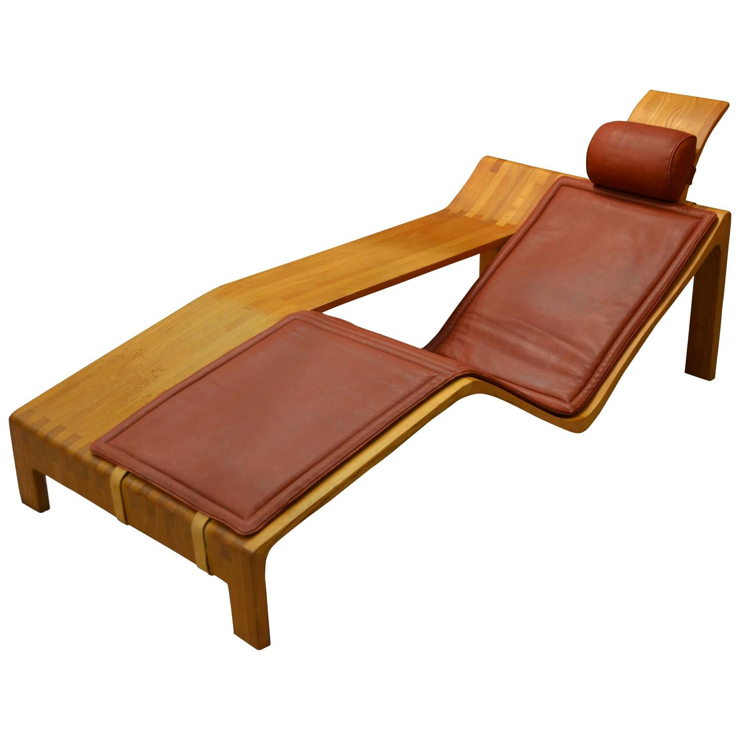Chaise by engmose for sale at 1stdibs for Chaise longue roche bobois