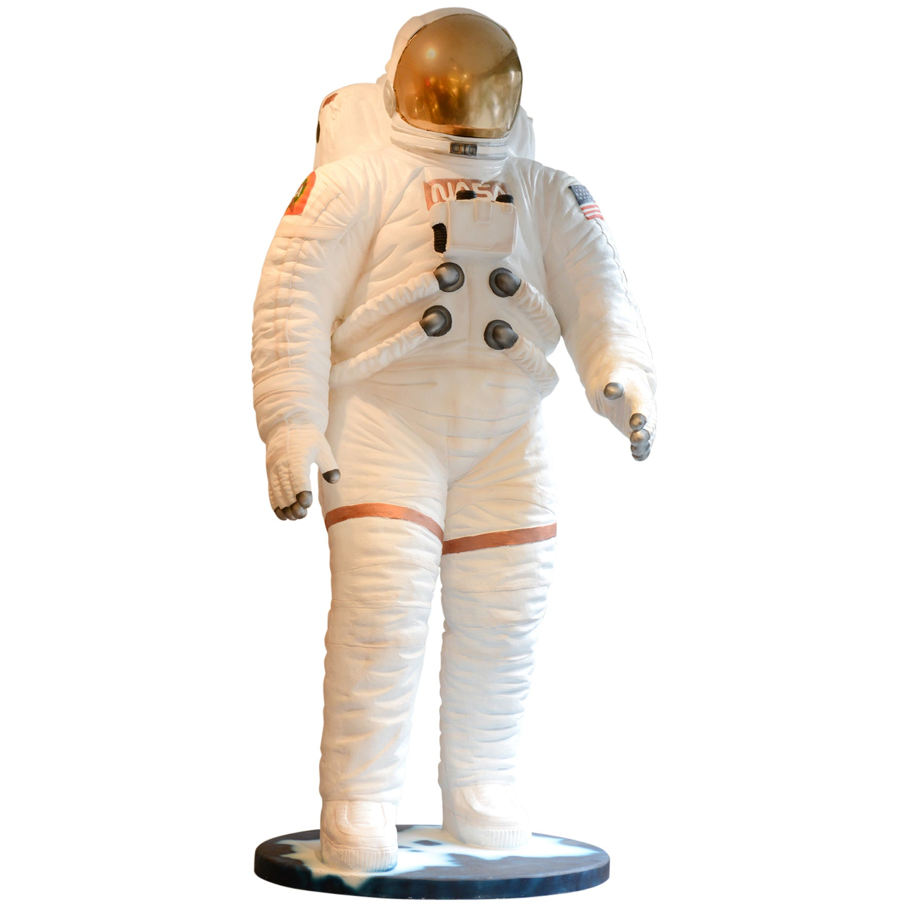 US Astronaut NASA Sculpture in Resin 2016