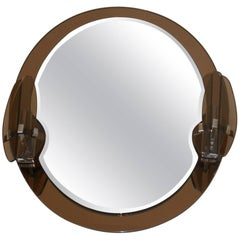 Oval Mirror by Lupi Cristal Luxor