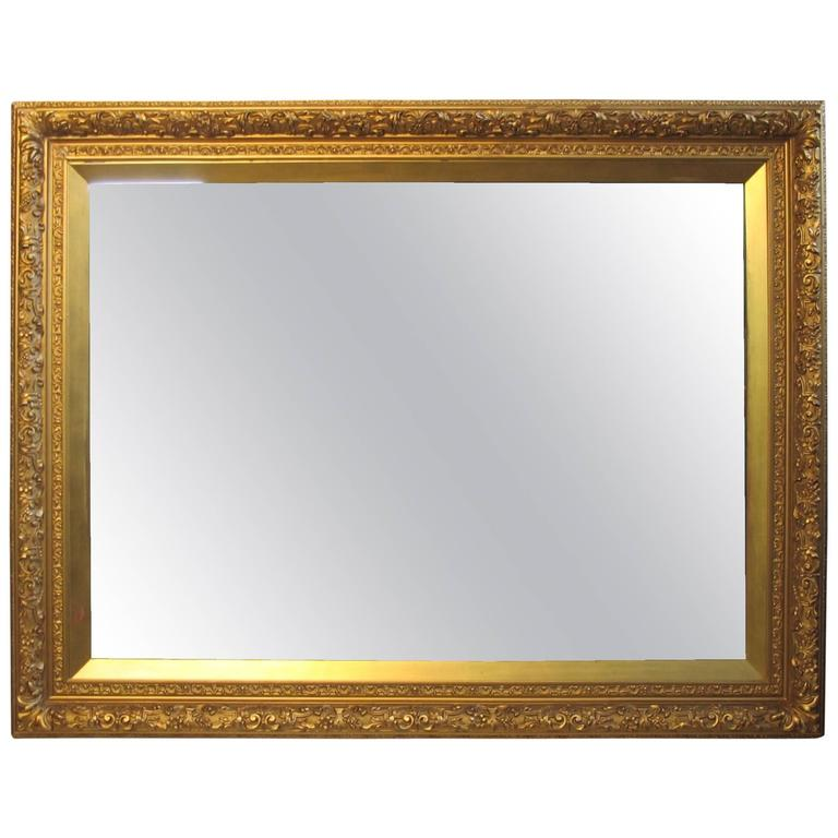 Gilt framed mirror for sale at 1stdibs for What is a gilt mirror