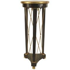 Louis XVI Ebonized Pedestal