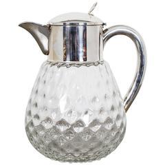 Pitcher Glass, 20th Century, Sweden