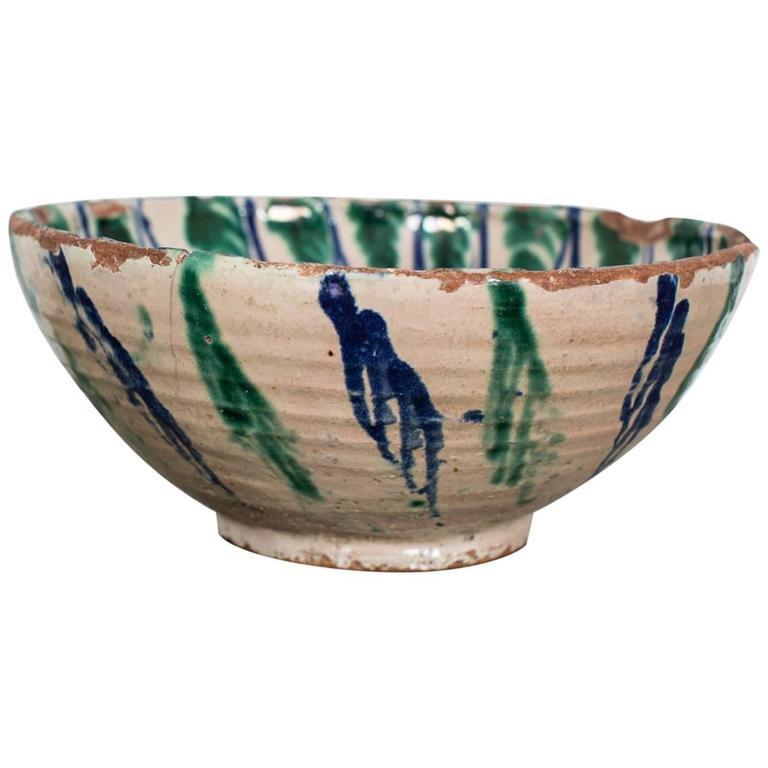 Bowl Faience 19th Century, France