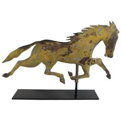 19th Century Folk Art Horse Weathervane