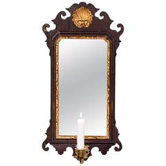 Wall Sconce Mirrored England Queen Anne