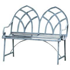 21st Century Gothic Style Garden Bench