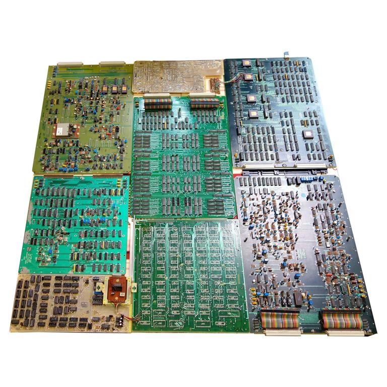 Component Art Wall Sculpture #PM-826. Mid-Century TV Video Artifacts. ON SALE.