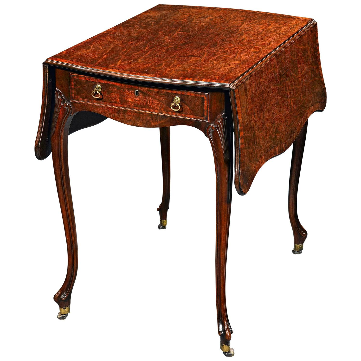 Gentil Thomas Chippendale Pembroke Table At 1stdibs