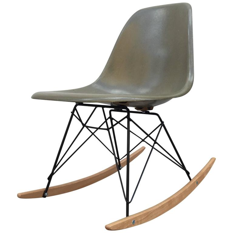 Eames Herman Miller Rocker in Raw Umber