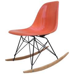 Eames Herman Miller Orange Rocker