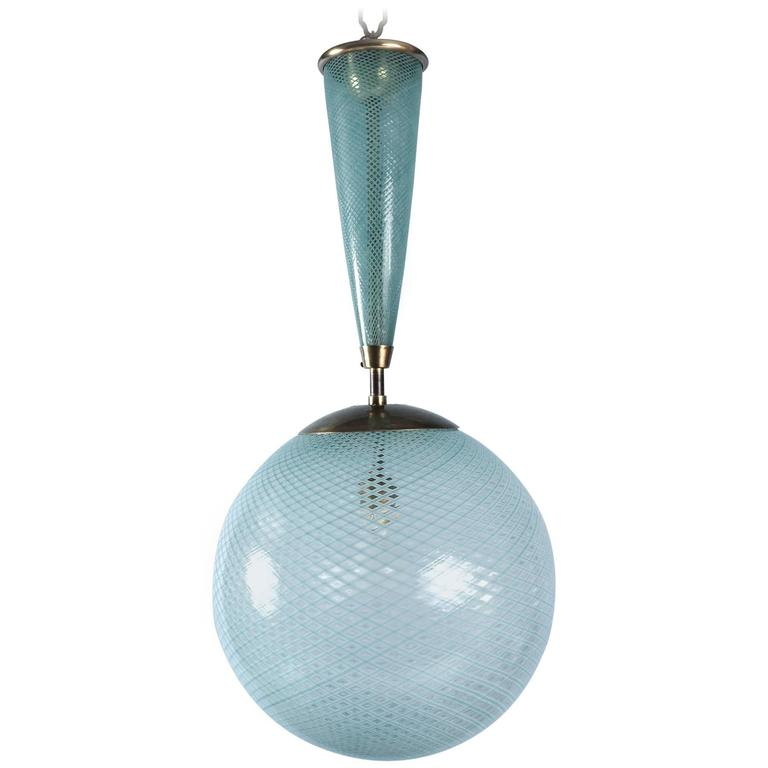 Lantern by Carlo Scarpa (1906-1978) Italy, ca. 1935 For Sale