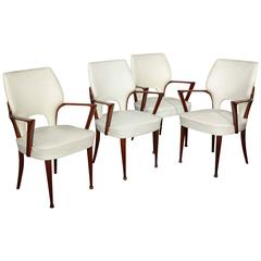 Four Dassi Chairs Made in Milan