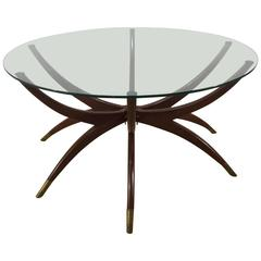 Mid-Century Modern Spider Leg Coffee Table