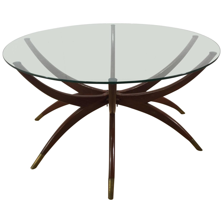 Mid Century Modern Spider Leg Coffee Table At 1stdibs