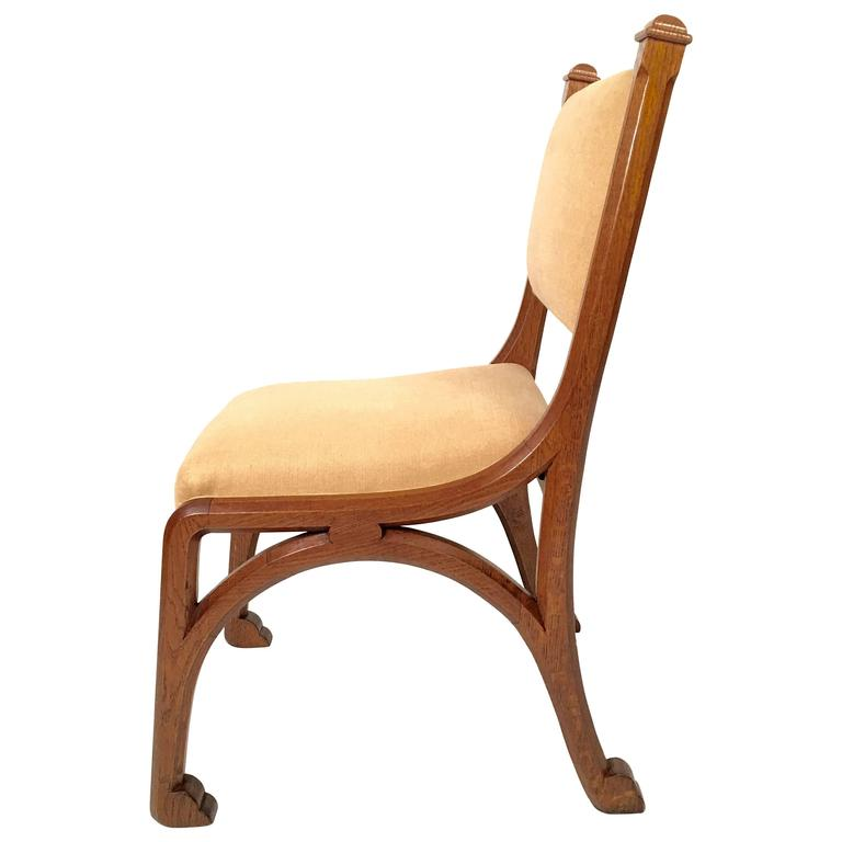 Gothic Revival Chair in the manner of Pugin