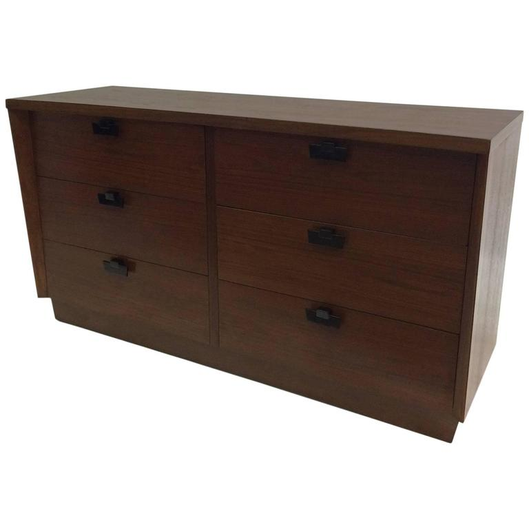 American of Martinsville Walnut Chest of Drawers 1