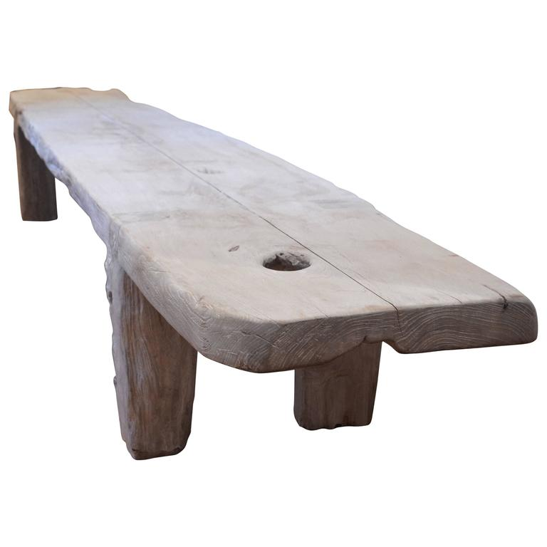 barts teak wood coffee table bench or dining table for sale at 1stdibs