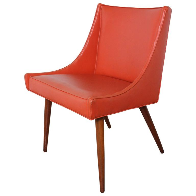Milo Baughman Slipper Chair